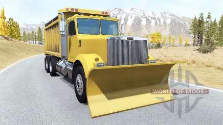 Gavril T-Series snow plow для BeamNG Drive