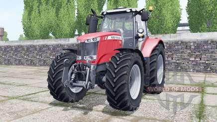 Massey Ferguson 7722 Michelin tires selectable для Farming Simulator 2017
