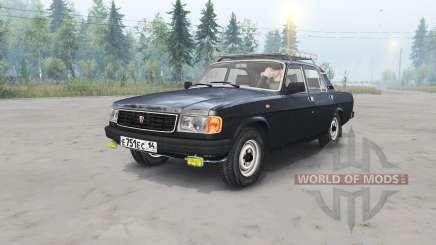 ГАЗ-31029 Волгᶏ для Spin Tires