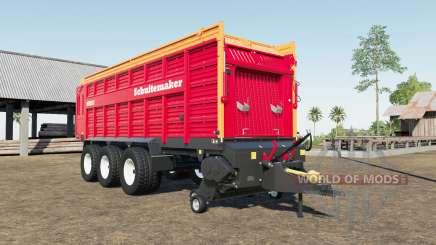 Schuitemaker Rapide 8400W self loading wagon для Farming Simulator 2017